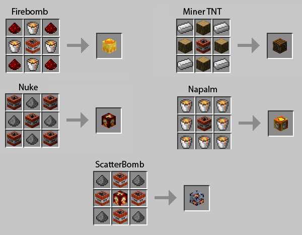 Minecraft - Nuke TNT Mod + Download - WiZARDHAX.com
